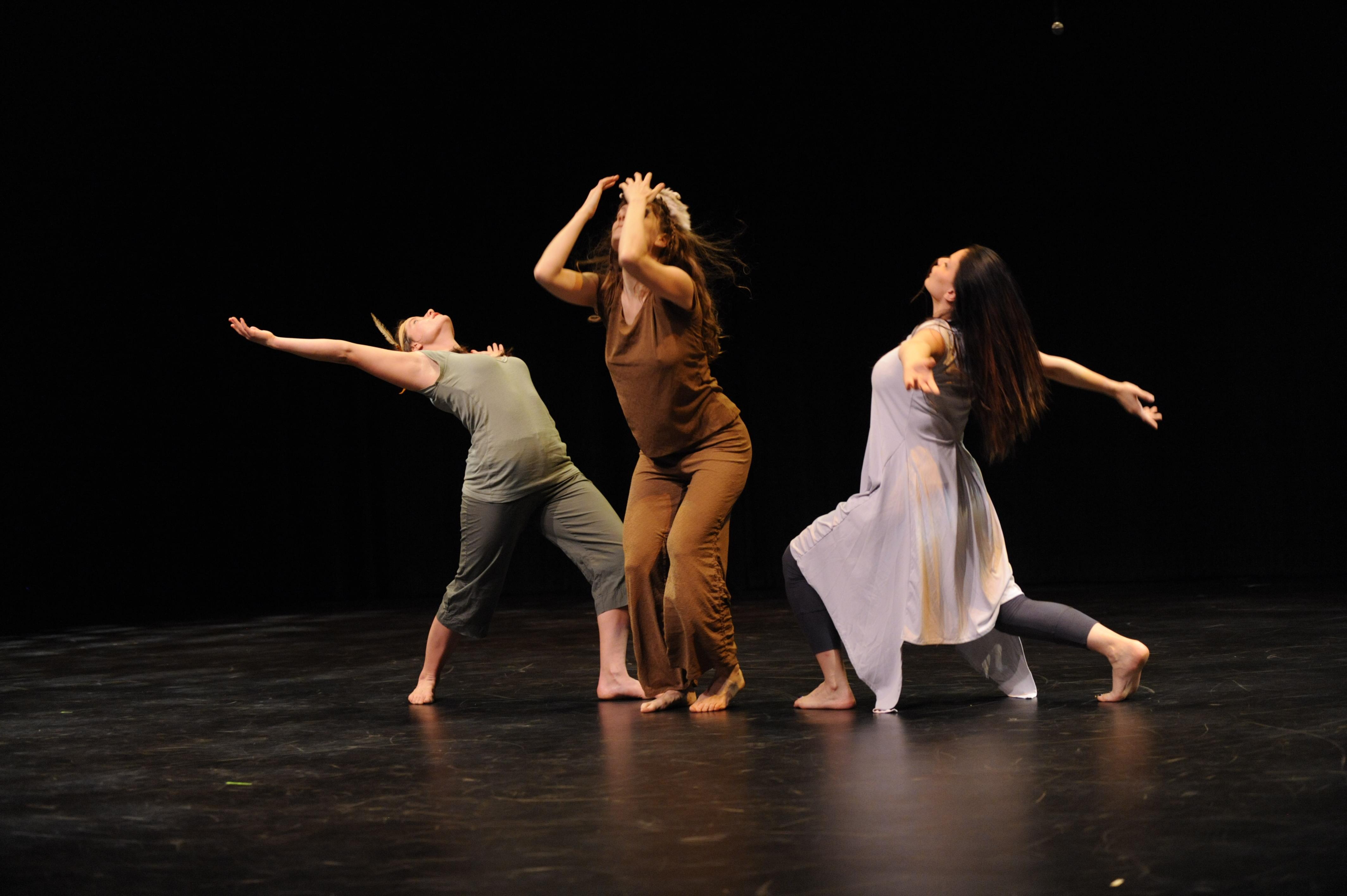 3 Contemp Shadow Dancers 20 Rest 1 Dance 2